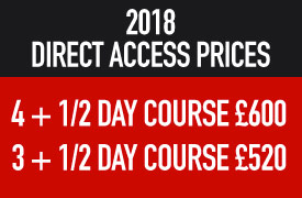 2018 Direct Access Prices
