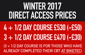 Winter 2017 Direct Access Prices