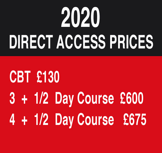Direct Access Motorcycle Training in Aberdeen